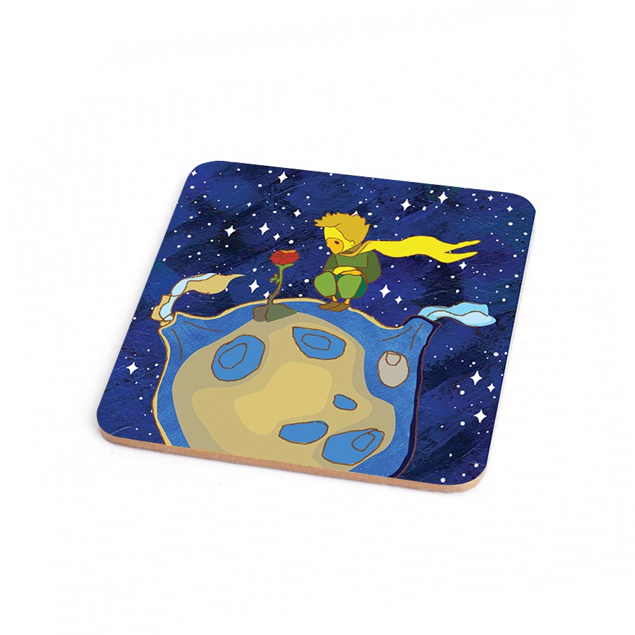 Wood Coaster Little Prince 3