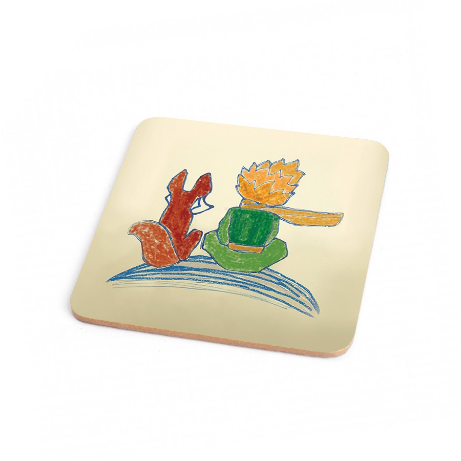 Wood Coaster Little Prince 7
