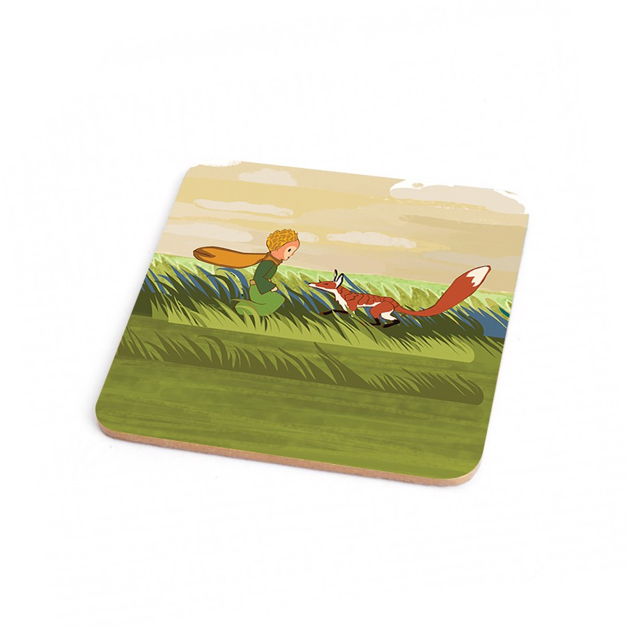Wood Coaster Little Prince 20