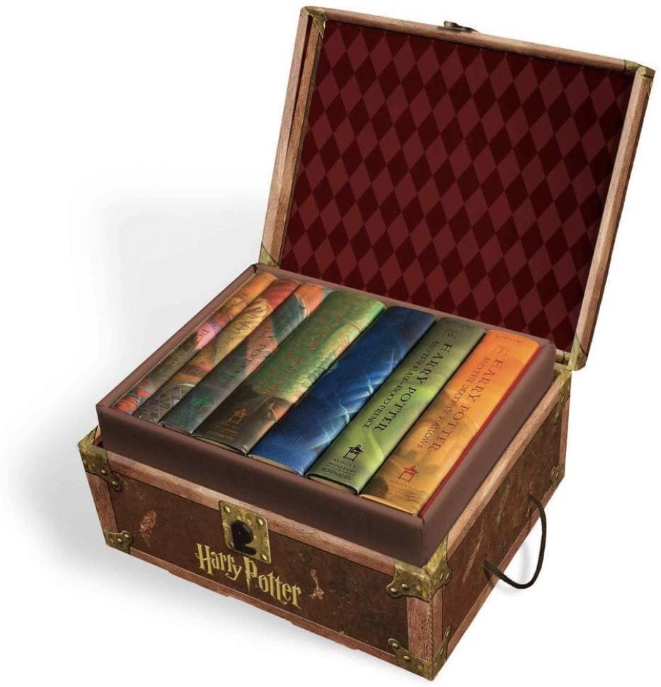 Harry Potter Hard Cover Boxed Set: Books 1-7