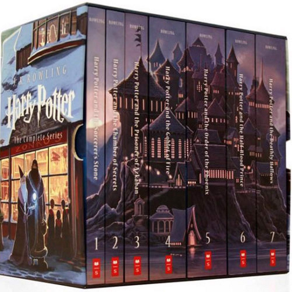 Harry Potter The Complete Series, 7 Vol