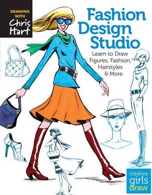 Fashion Design Studio : Learn to Draw Figures, Fashion, Hairstyles & More_Christopher Hart_9781936096626_Sixth and Spring Books