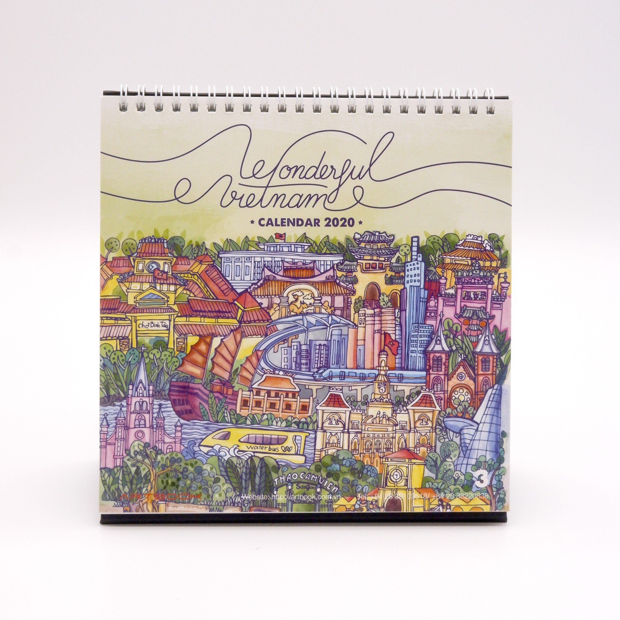 Wonderful Vietnam 3 - 2020 Calendar - Artbook