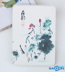 Bao da Kindle Paperwhite 2019 10th Hoa Sen