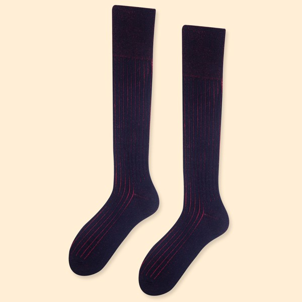tất nam over the calf cổ cao  cotton từ NEAT socks Supply