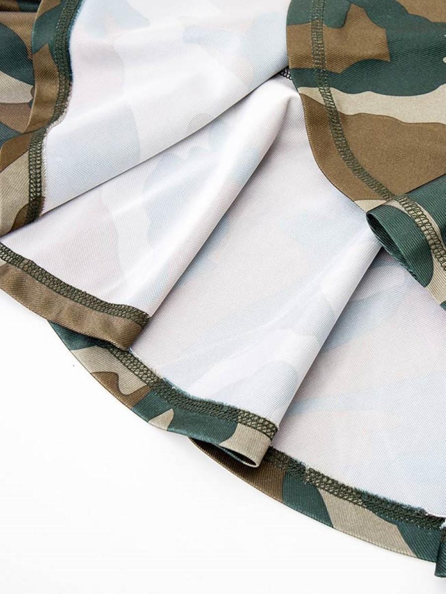 Đầm hoa văn lính, đuôi cá 3021412190546