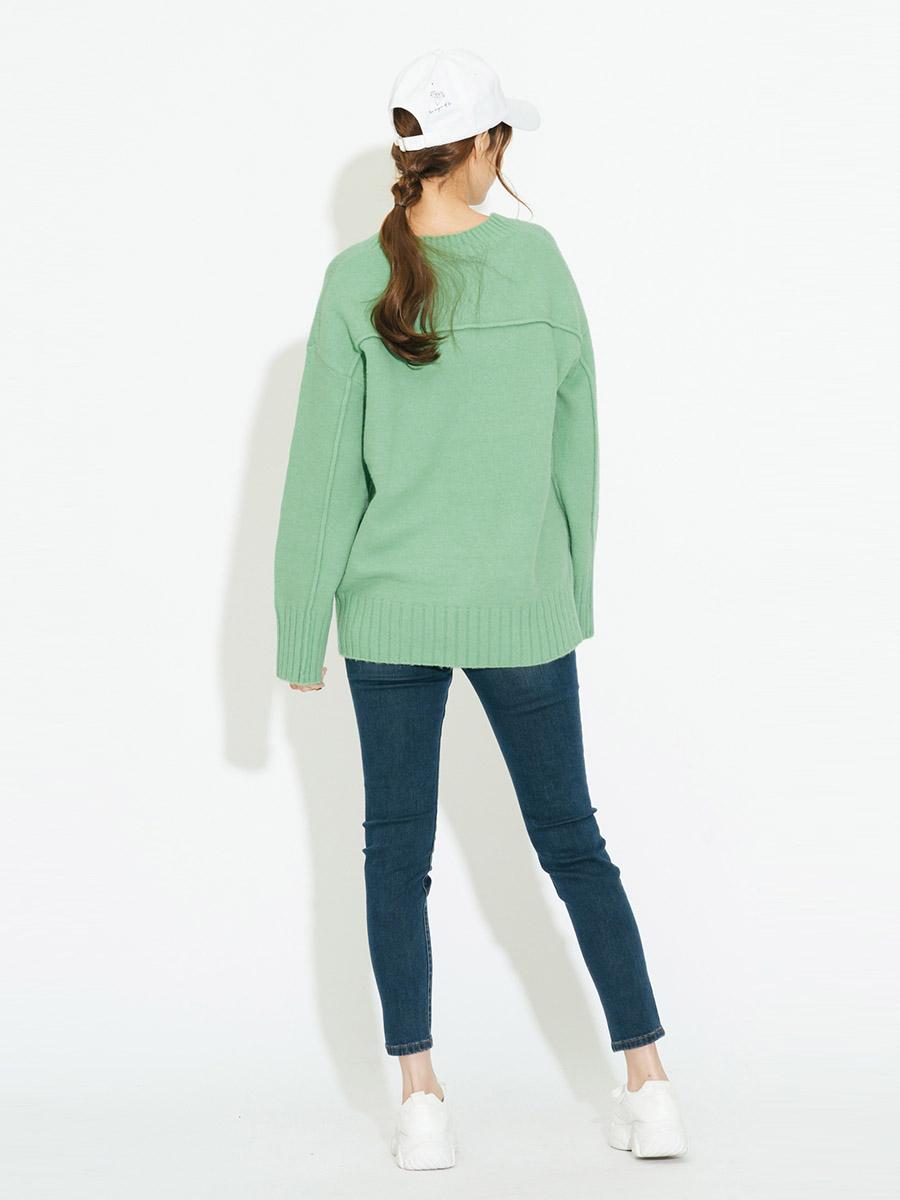 Áo len nữ cổ V 3024014009633