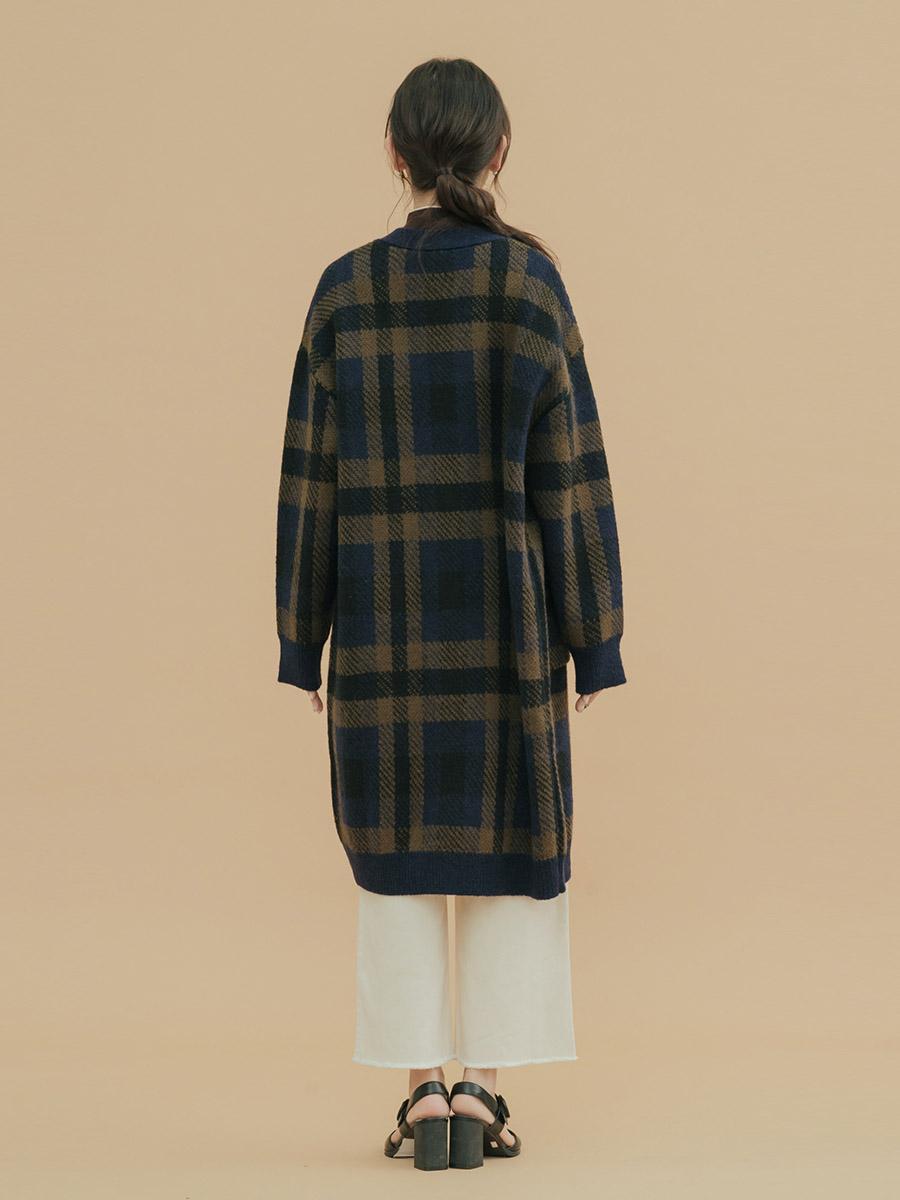 Áo khoác len nữ dáng dài 3024014089238