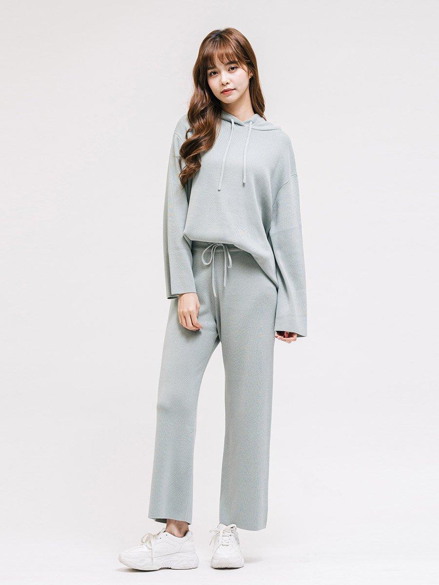 Áo len dệt kim nữ có nón 3026014025237