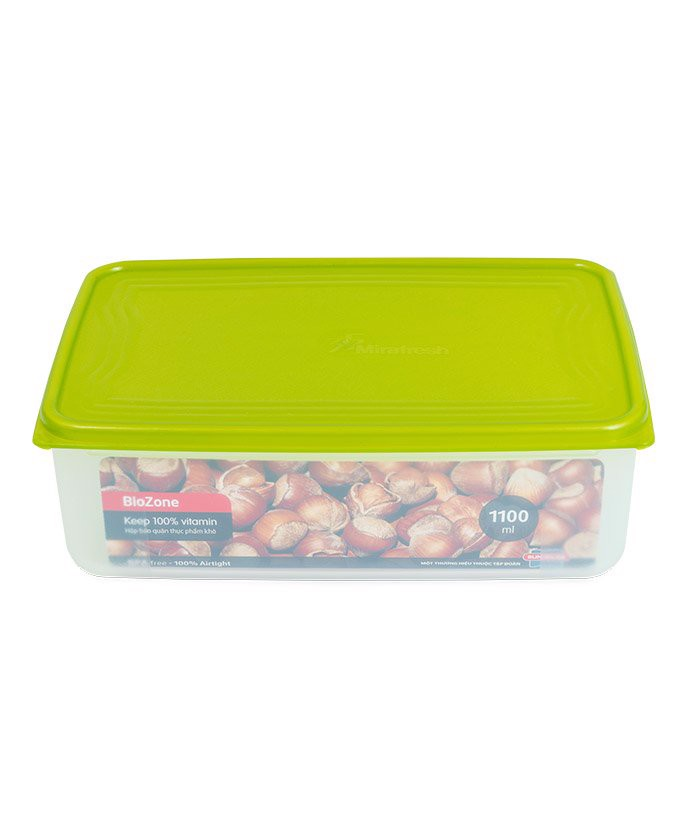 Hộp bảo quản thực phẩm khô BioZone 1100ml