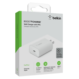 Adapter sạc nhanh 25W USB-C PD (PPS) Belkin - WCA004dqWH