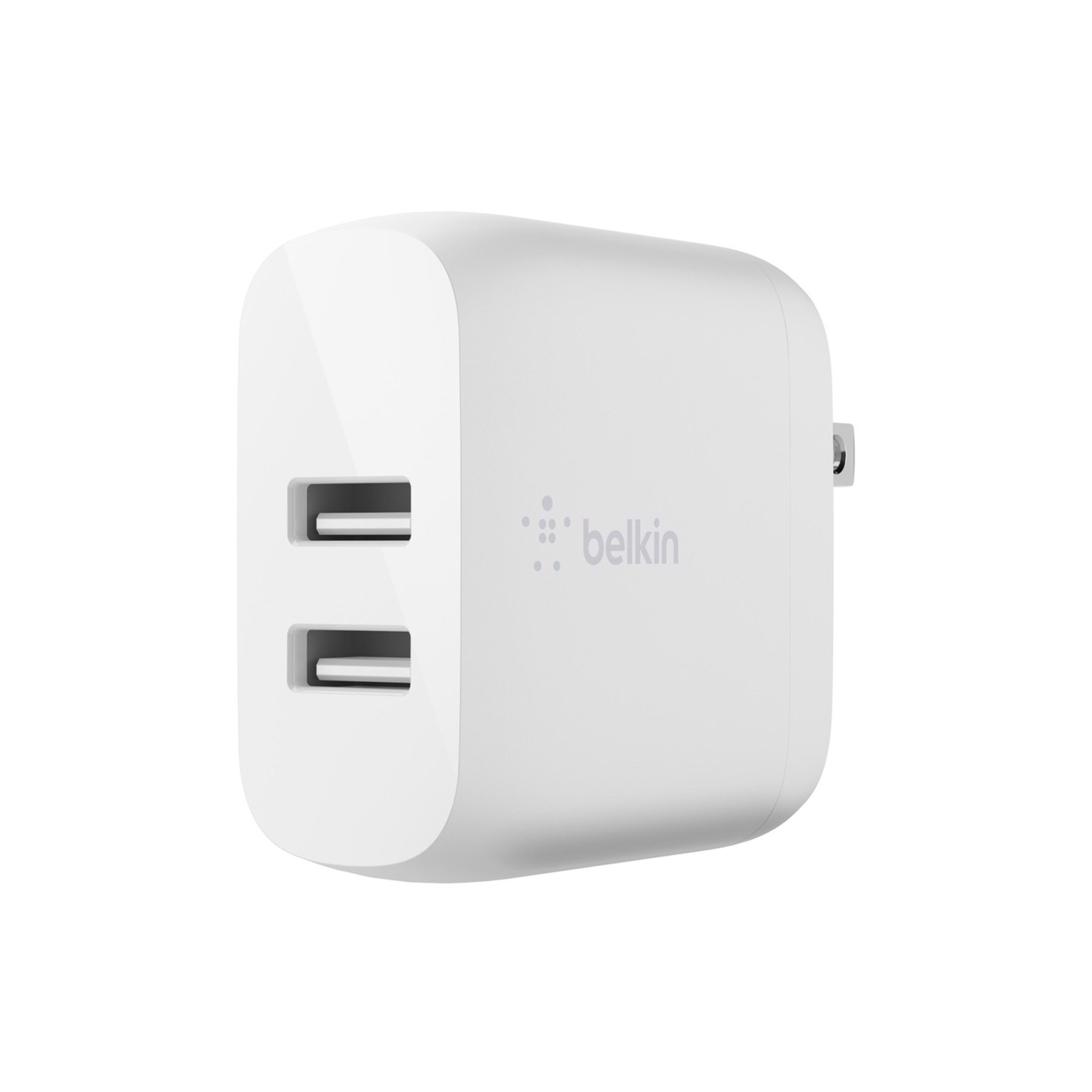 Adapter sạc BOOST↑CHARGE™ Belkin Dual USB-A 24W - WCB002dqWH