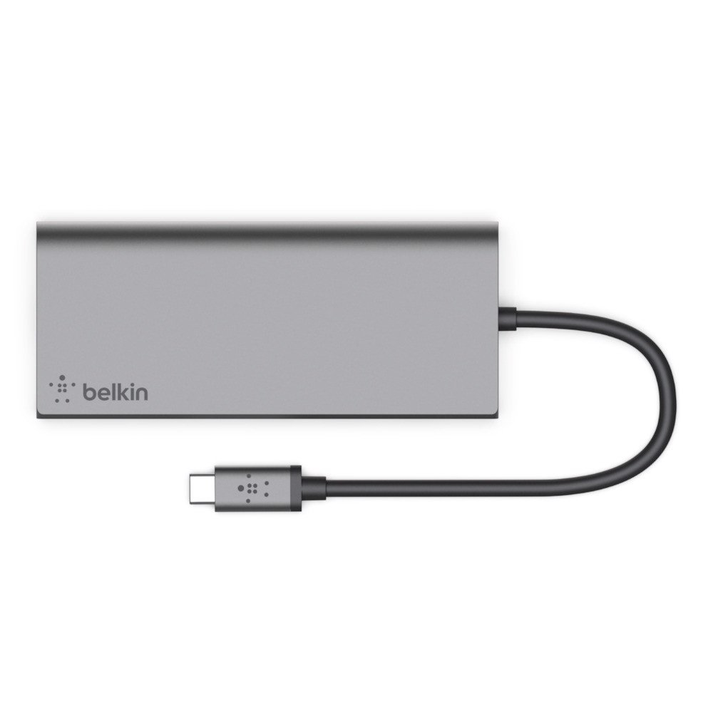 Hub USB Type C Multimedia 6in1 Belkin - F4U092btSGY
