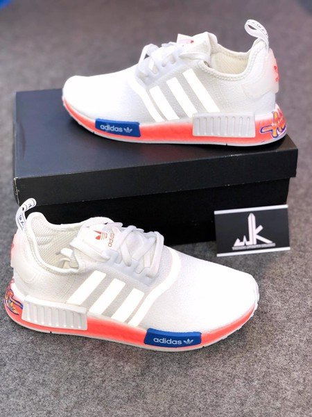 NMD WHITE RED