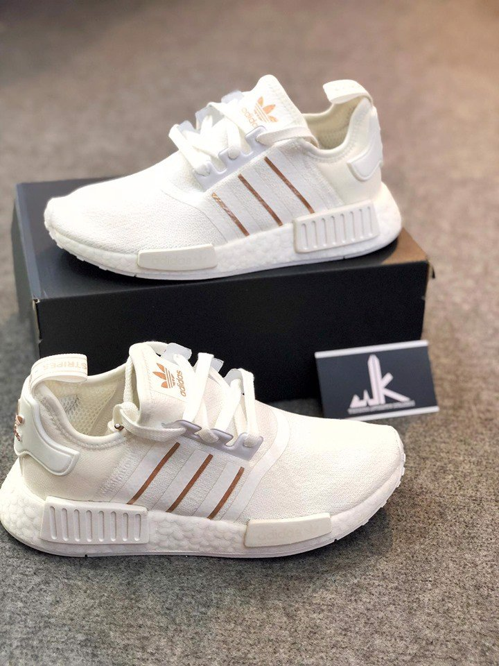 NMD WHITE GOLD