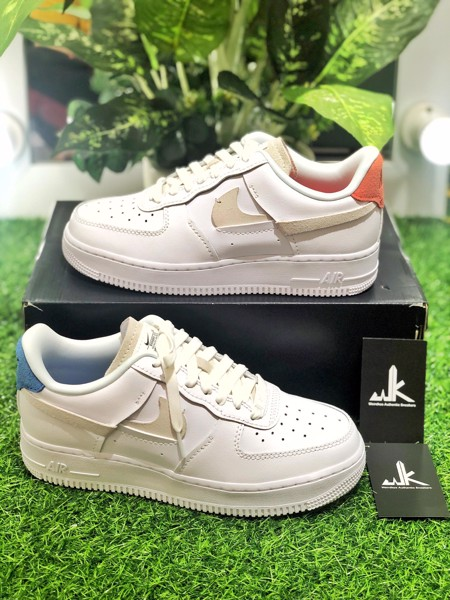 898889-103 Air Force 1 LX Vandalised White