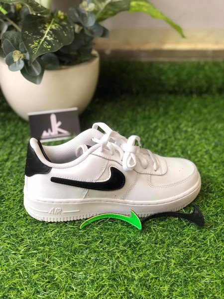 AR7446-100 Air Force 1 Change Swoosh