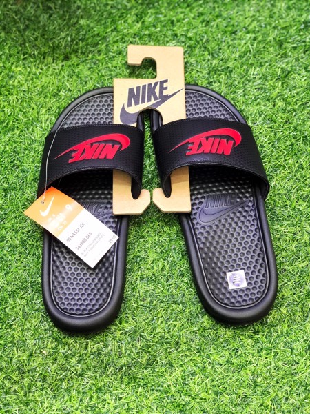 343880-060 Nike Benassi JDI Black/Red