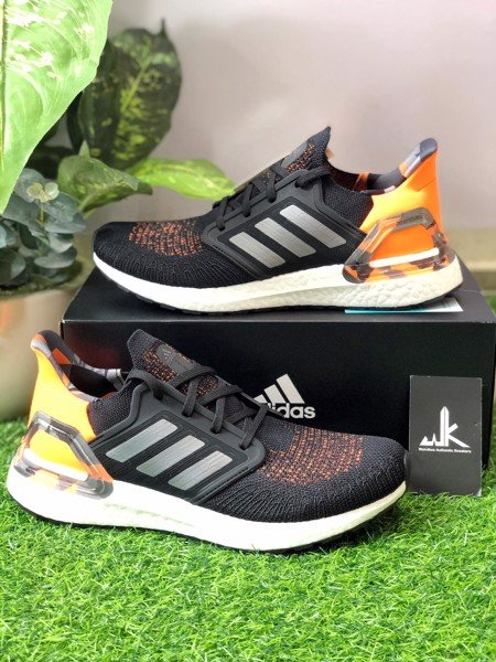 FV8322 Ultraboost 20 Signal Orange Camo