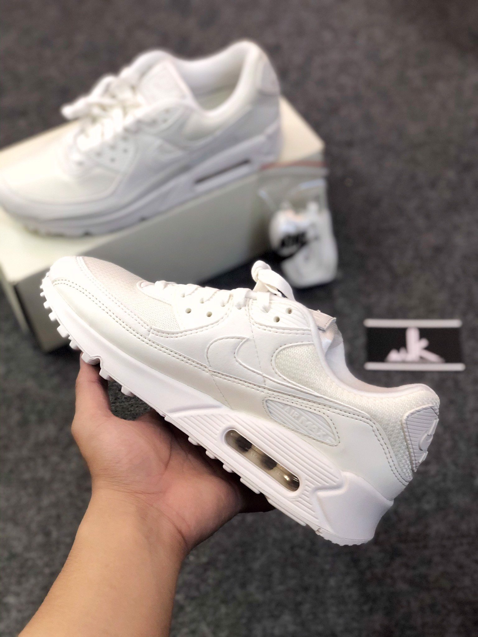 Nike Airmax 90 All White