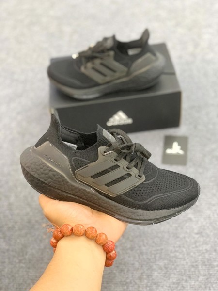 FY0306 UltraBoost 21 Triple Black