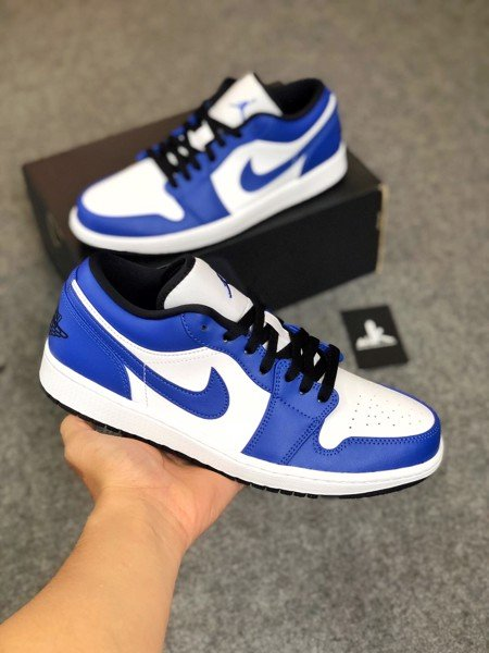 553558-124 Jordan 1 Low Game Royal