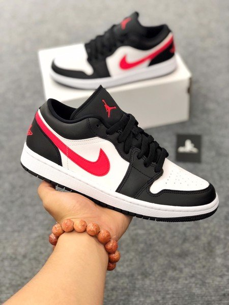 DC0774-004 Jordan 1 Low Siren Red