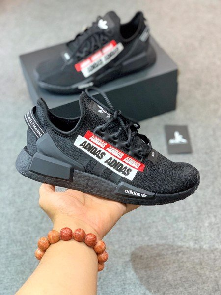 H01589 NMD_R1 V2 Black Red