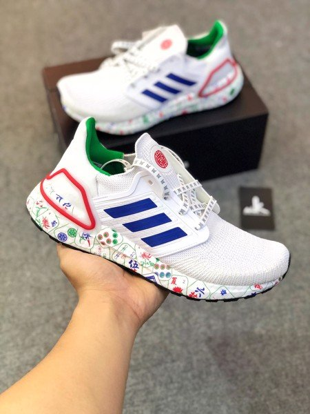 FX8889 UltraBoost 20 Team Royal Blue-Green