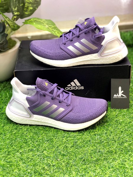 EG0718 UltraBoost 20 Tech Purple