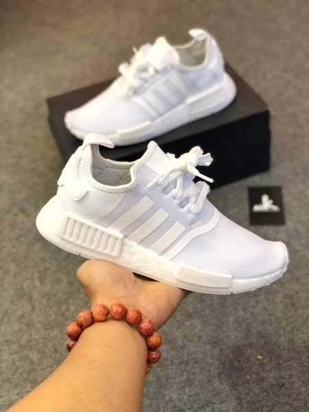 FY9384 NMD R1 Triple White Cloud White