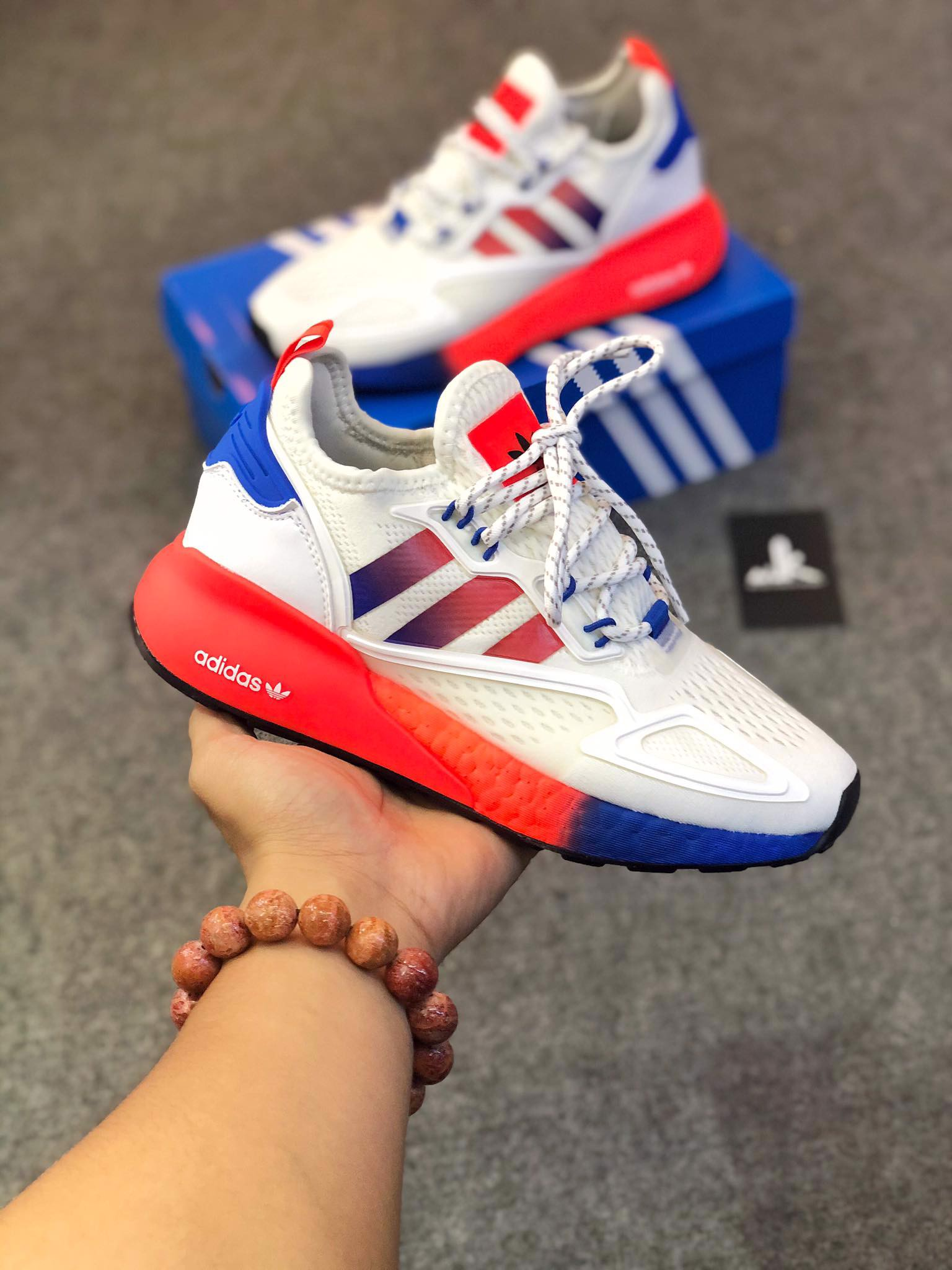 FV9996 ZX 2K Boost White Multi