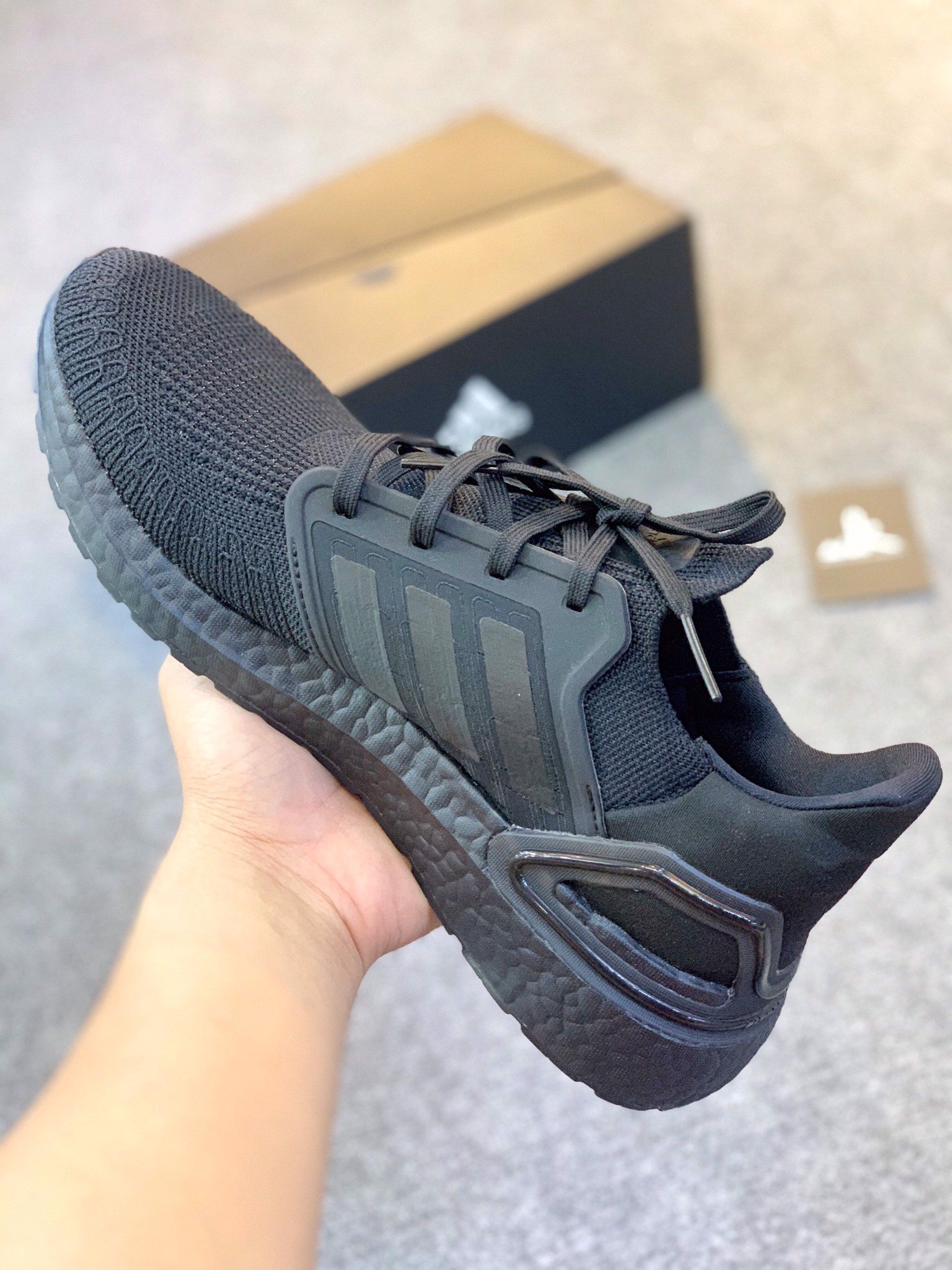 "EG0691 - Ultraboost 2020 ""TRIPLE BLACK"""