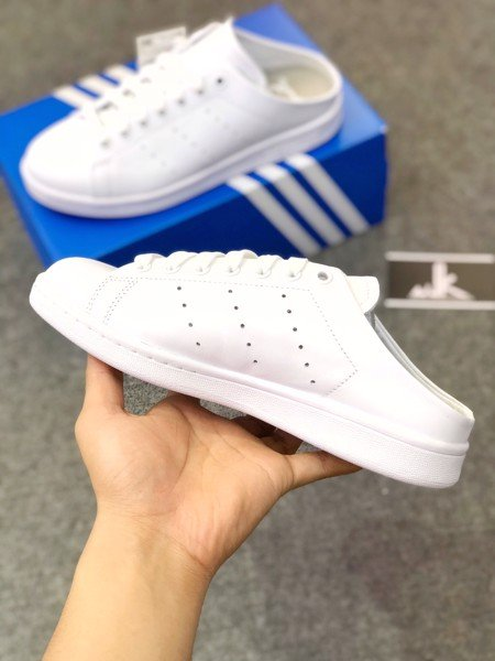Stan Smith Mule All White