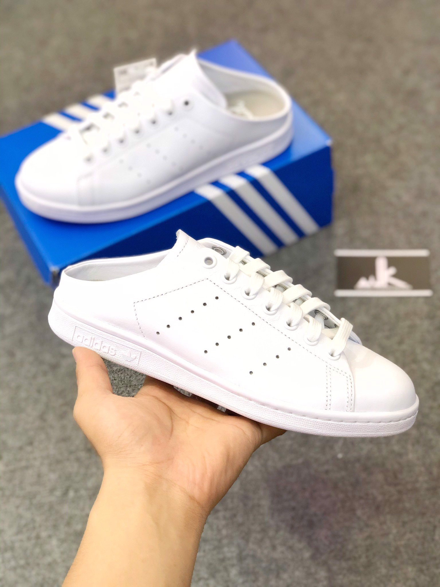 FX0532 - Stan Smith Mule All White