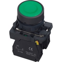 Flush Push Button Switch