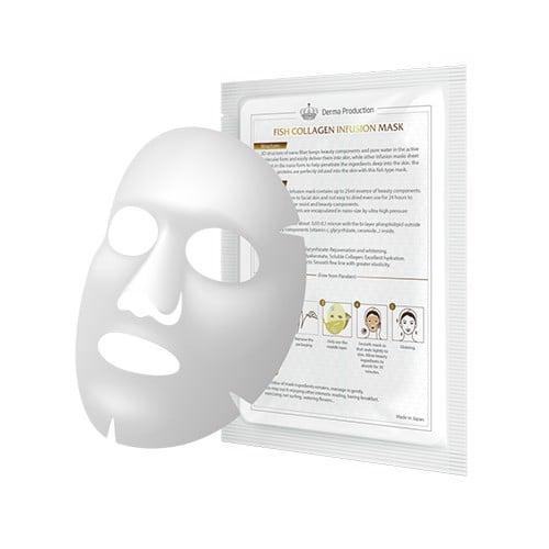 Mặt nạ da cá phục hồi và làm dịu da sau liệu trình chuyên sâu Fish Collagen Infusion Mask