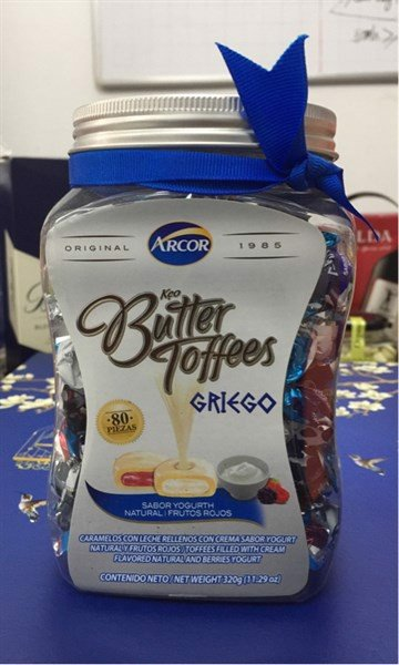 Kẹo butter toffees