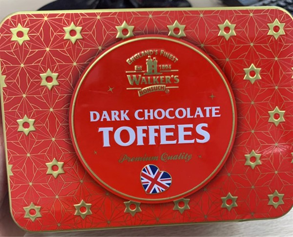Bánh Dark Chocolate Toffees