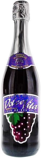 GRAPE JUICE DOLCE VITA (Vị nho)