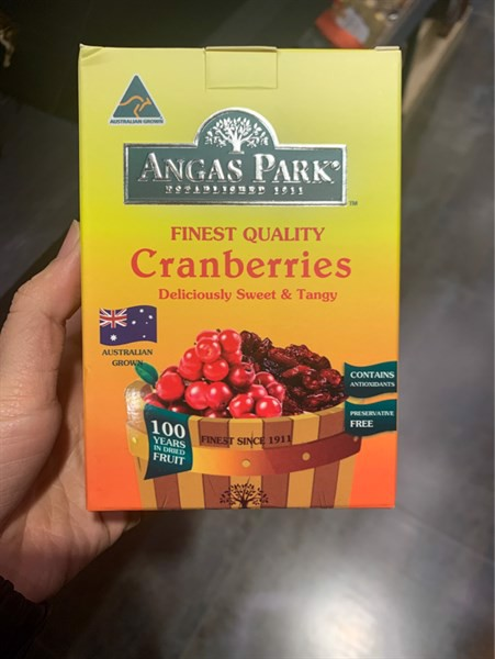 Finest quality Cranberries 110g