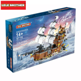 Bộ lắp ráp Thuyền chiến cổ - Lele Brother - Sea Cow 6710