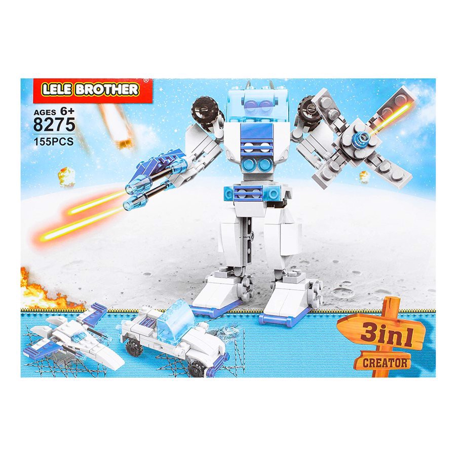 Đồ chơi lắp Ultra Magnus - Lele Brother - TRANSFORMER FIGHTER - 3in1 - 8275