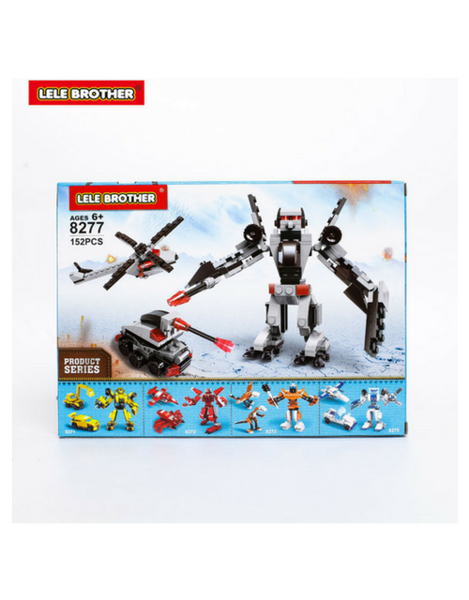 Bộ lắp ráp Wheeljack - Lele Brother - TRANSFORMER FIGHTER - 3in1 - 8277
