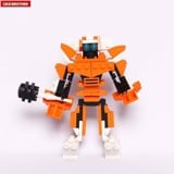 Đồ chơi lắp ráp Sunstorm  - Lele Brother - TRANSFORMER FIGHTER - 3in1 - 8273