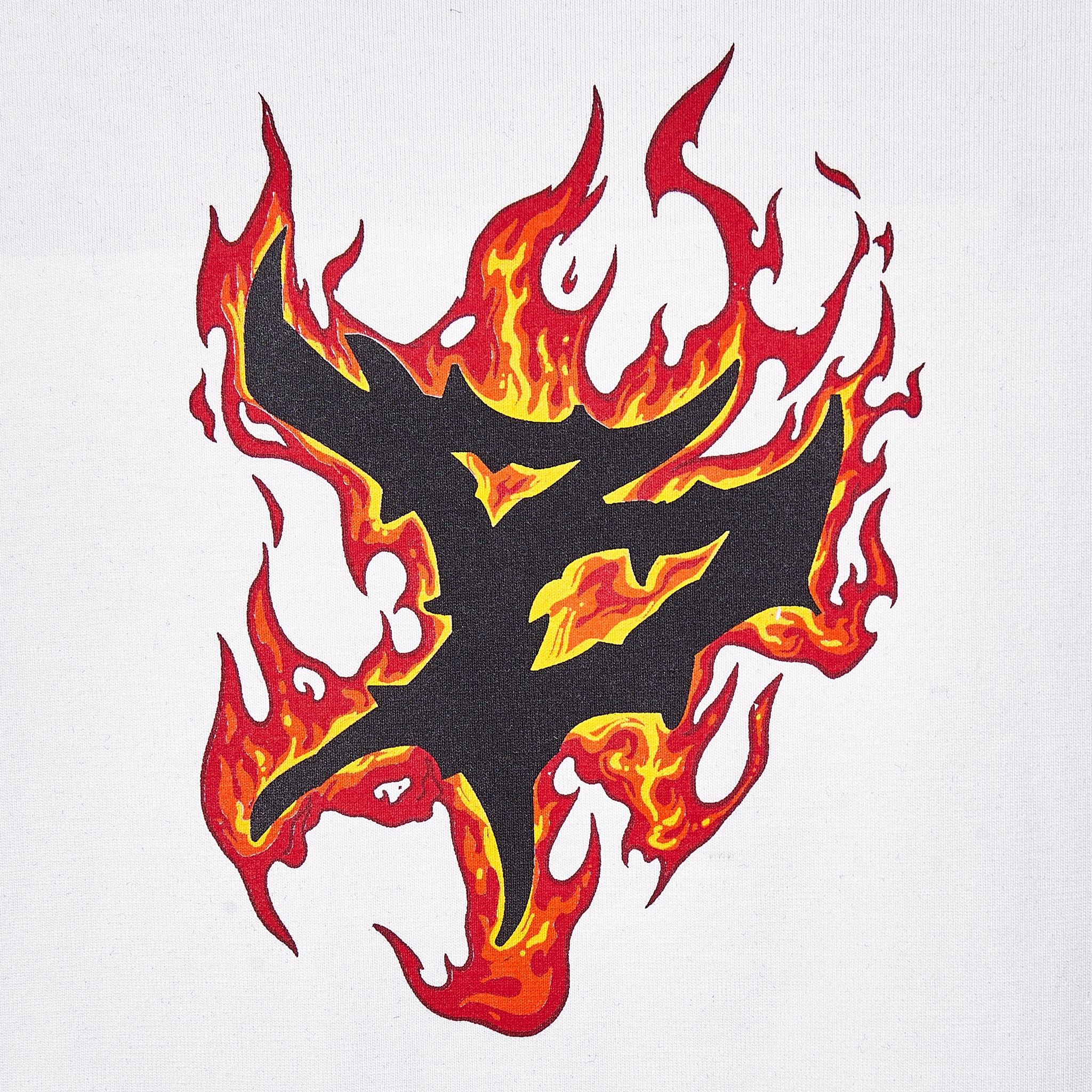 FLAME T-SHIRT (Trắng )