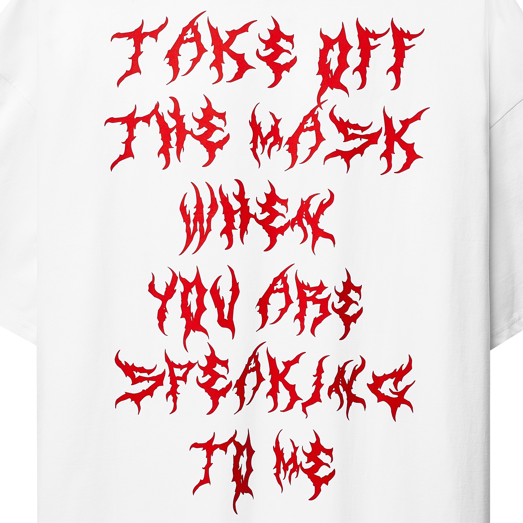 THE MASK T-SHIRT (TRẮNG)