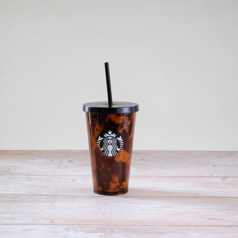 Ly Cold Cup 16OZ Tortoise Shell