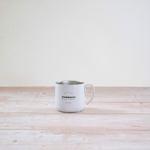 Cốc inox SS HANDLE MUG WHITE GATHERINGS