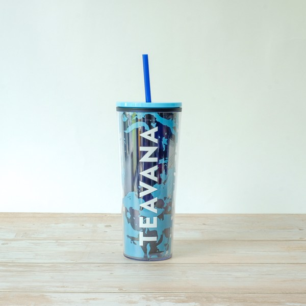 Ly COLDCUP 20 BLUE MRBLE TEAVANA